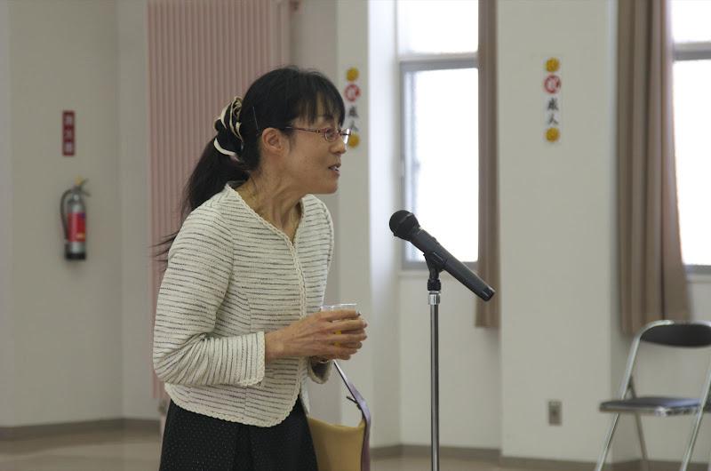 小学校恩師:吉川明美先生の乾杯のお言葉