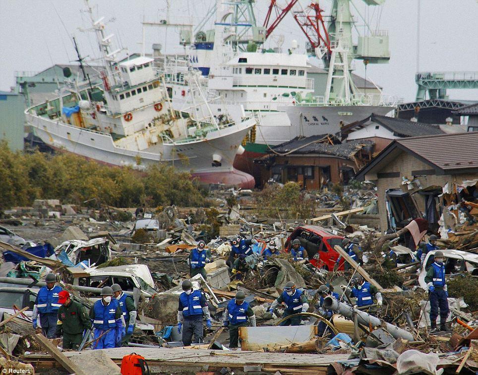 Tsunami Japan 2011 Folgen