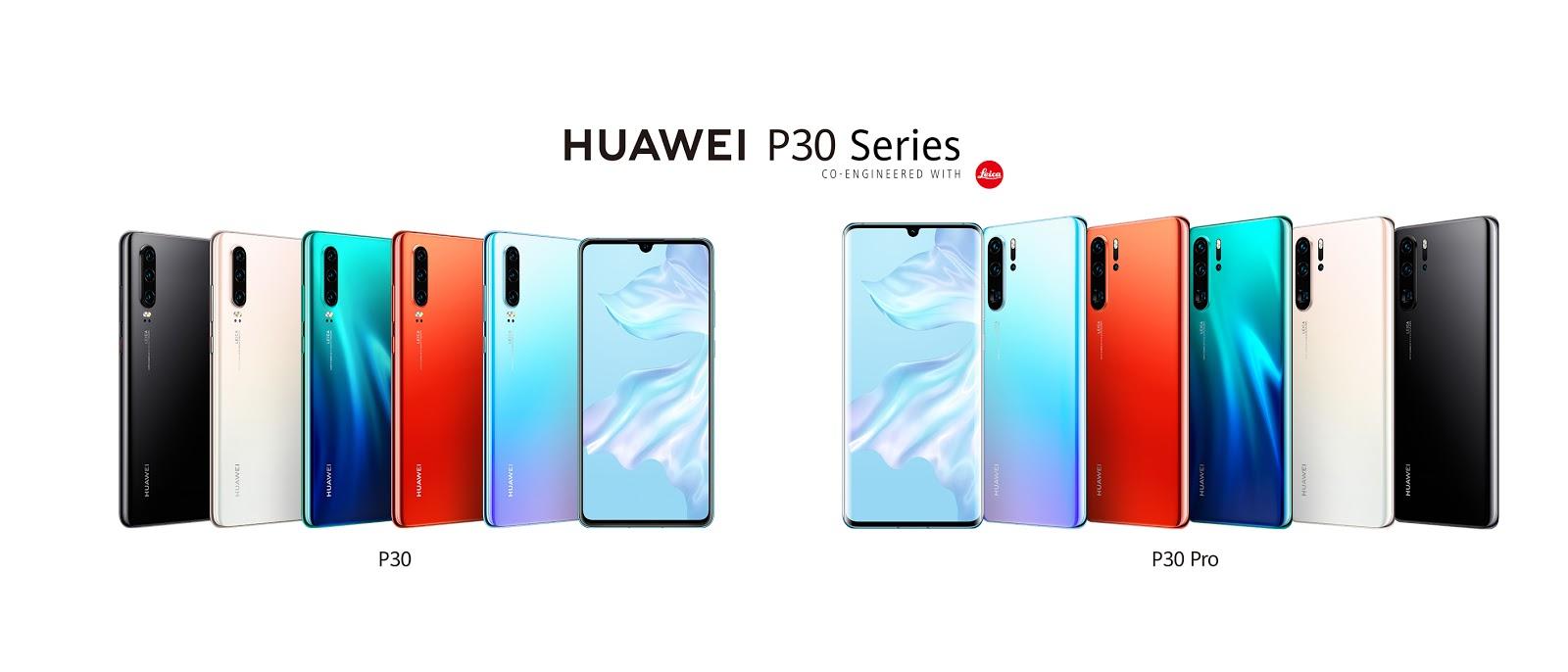 หัวเว่ยฉีกทุกกฎของการถ่ายภาพ เปิดตัวที่สุดแห่งสมาร์ทโฟนHUAWEI P30 Series