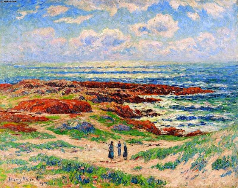 Henry Moret - Les Dunes de Tregune, Finistere