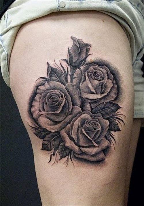 Linda Rosa Tatuagens E Desenhos Tatuagem