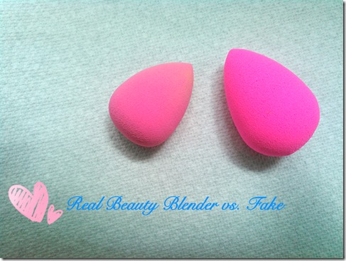 poetry of the senses real beauty blender vs fake
