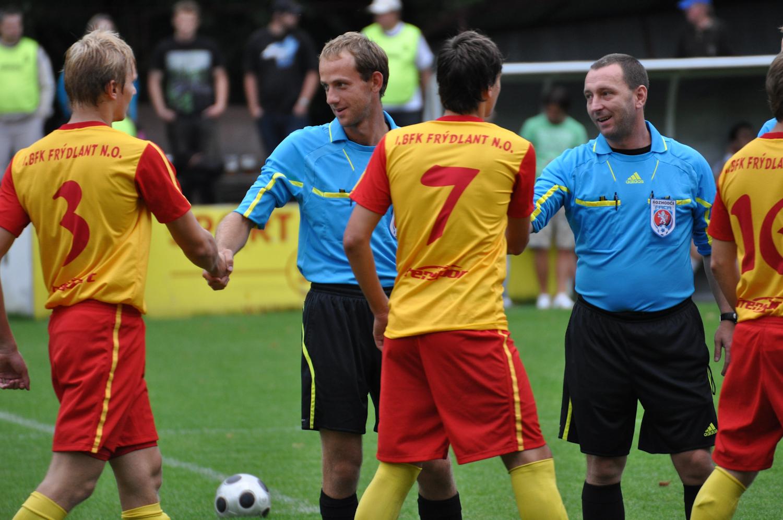 Zápas KP mezi 1.BFK a FK Krnov. Foto by Patrik Jucha