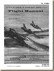 Republic F-105D, F, and G Thunderchief Flight Manual_01