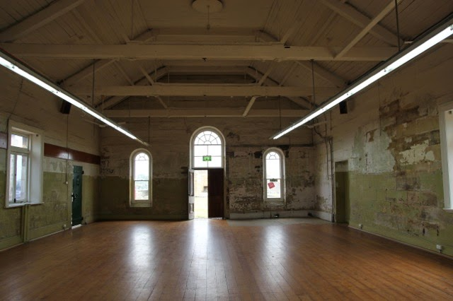 Mess Hall for Convicts, Cockatoo Island, Sydney Harbour