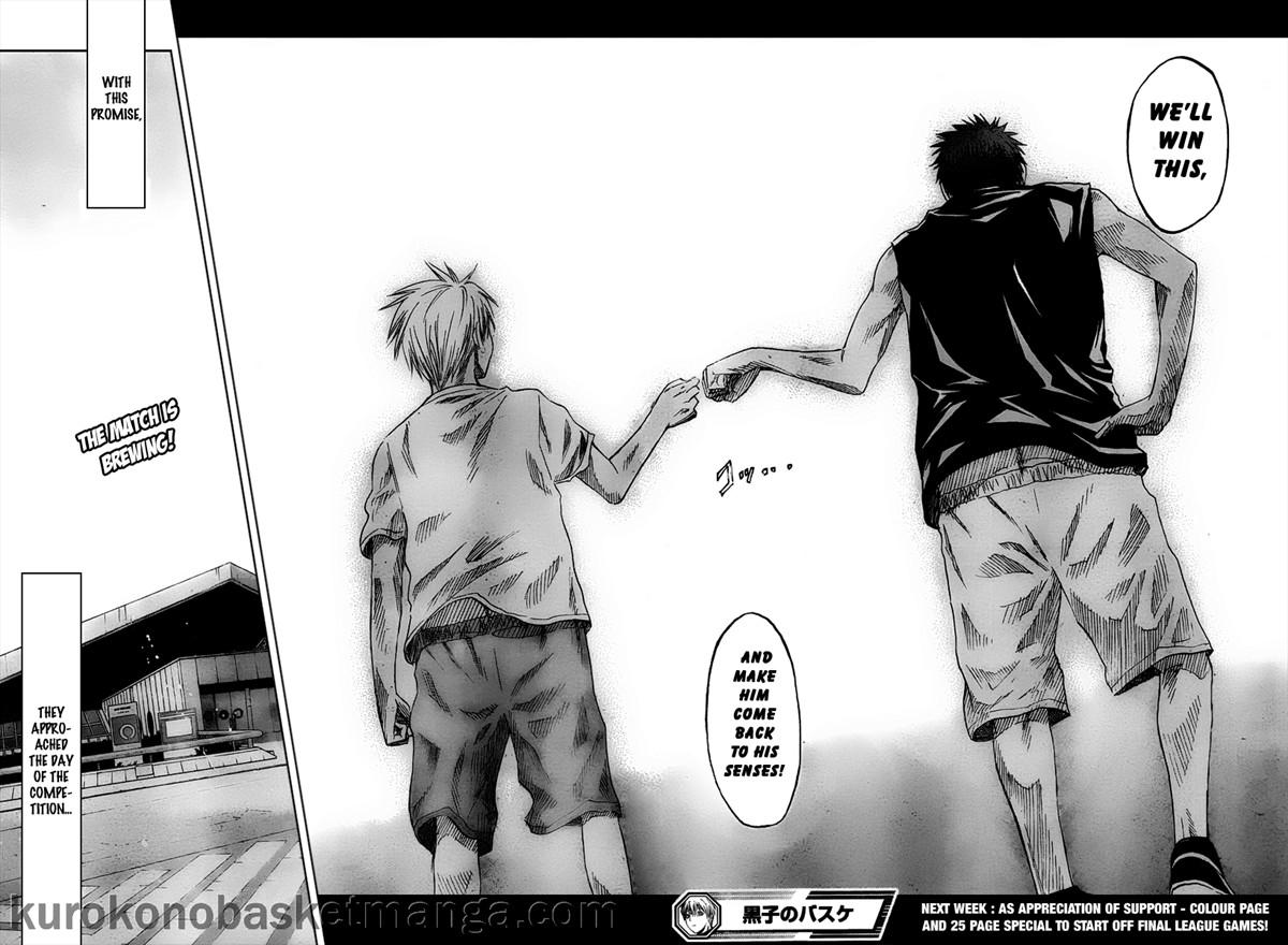 Kuroko no Basket Manga Chapter 41 - Image 18-19