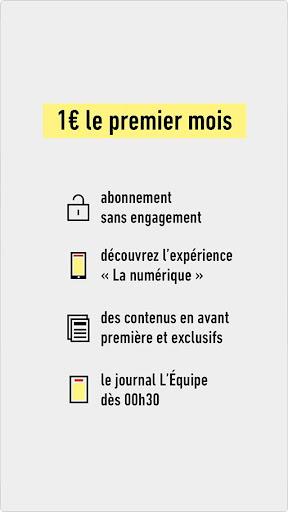 L'u00c9quipe - Sport en direct : foot, tennis, rugby.. 7.4.2 screenshots 2