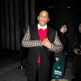 WWW.ENTSIMAGES.COM -    Reggie Yates at London Collections: Men : Oliver Spencer BFC Show Space, Old Sorting Office New Oxford Street London January 8th 2013                                                       Photo Mobis Photos/OIC 0203 174 1069