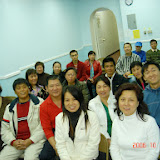 Monday night cell group. 2006-10-30 周一小组