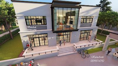 แบบบ้าน2ชั้นสไตล์มินิมอล  เจ้าของอาคารคุณอภิชาติ บรรพสิมาวิชญา  สถานที่ก่อสร้าง เขตภาษีเจริญ กรุงเทพมหานคร