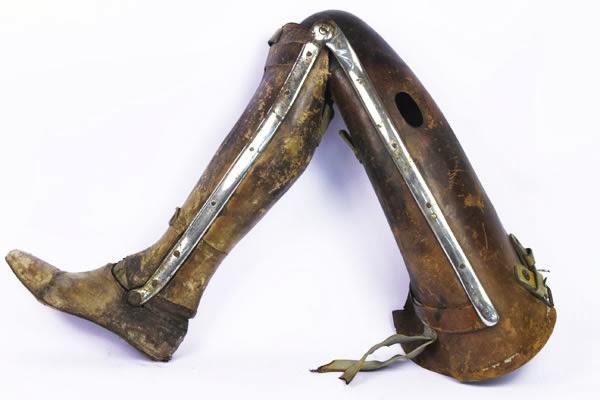 Pierna ortopédica