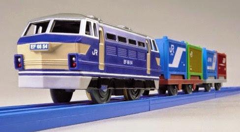 Đồ chơi Tầu hỏa S-60 EF66 Electric Locomotive mô phỏng giống với thực tế