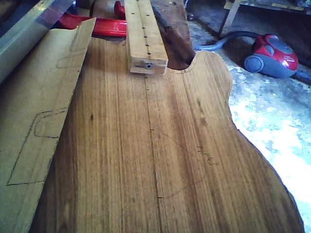 Construção guitarra telecaster, meu 1º projeto bolt on. Finalizado e com vídeo Imagem+006