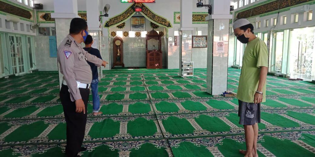 Jelang Hari Raya Idul Adha 1441 H Polres Soppeng Sosialisasikan Surat Edaran Bupati Soppeng