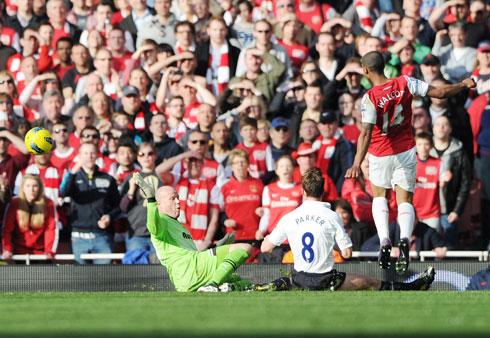 Theo Walcott, Arsenal - Tottenham HotSpur