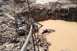 Tambang Emas Diduga Ilegal di Melawi Rusak Lingkungan