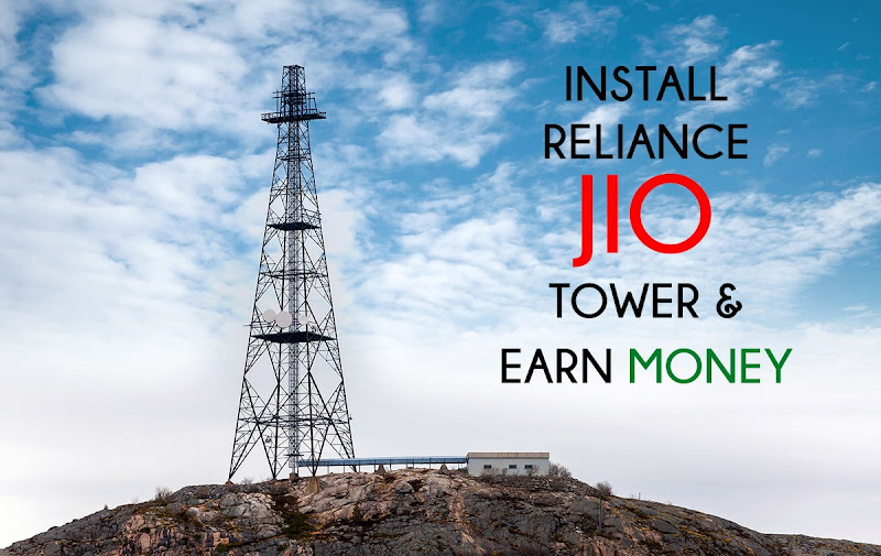 reliance jio network tower