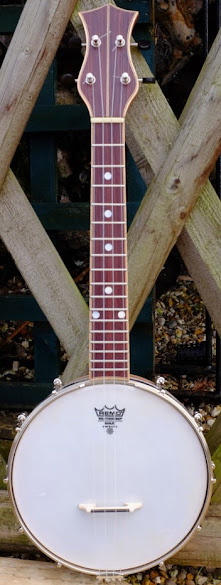 Shackleton design Co Banjolele Banjo Ukulele