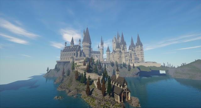 Jogador recria mundo de Harry Potter no Minecraft