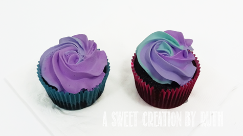 Frozen themed cupcakes, A Sweet Creation by Ruth, Ruthie Lopez
