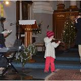 Zpívání s dětmi u betléma