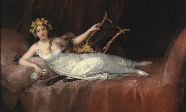 Dipinto Francisco Goya, La marchesa di Santa Cruz