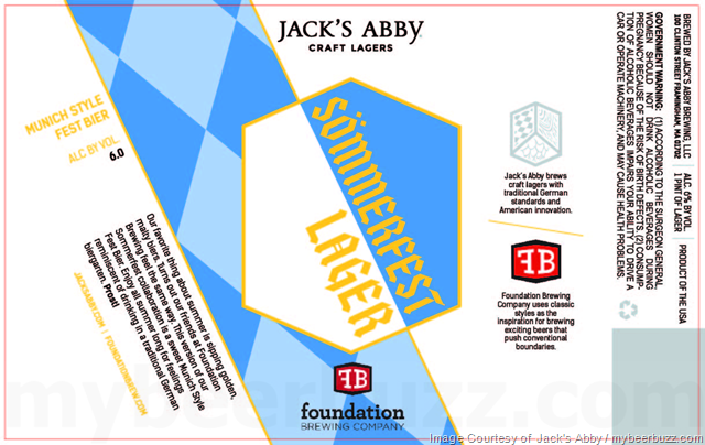 Jack's Abby & Foundation brewing Collaborate On Sömmerfest Lager
