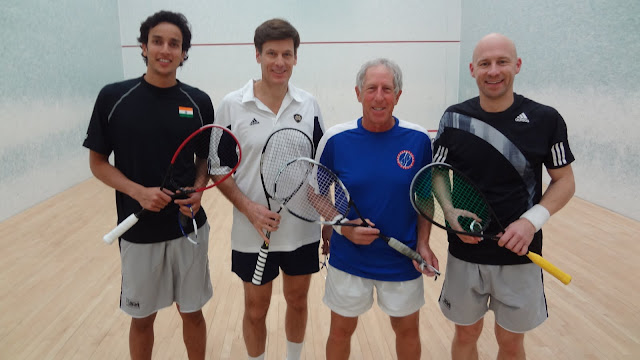 Southwest Draw: Finalists - Mathur Manek (Rye) & Steve Neumeier; Champions - Lenny Bernheimer & Chris Walker (Greenwich)