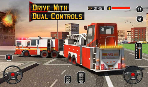 Fire Truck Driving School: 911 Emergency Response for PC