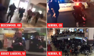 Malls across America break out in chaos and violence
