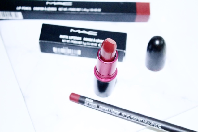 MAC Brick Liner & Viva Glam I Lipstick Review