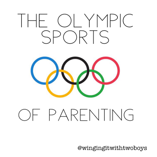 The Olympic sports of parenting