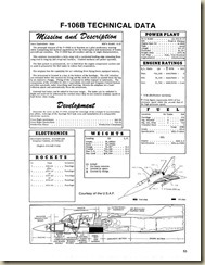 Convair F-106A Technical Performance Data_01