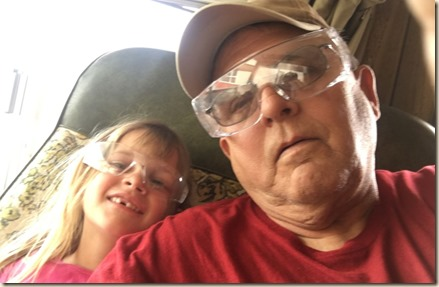 Poppaw and Rachel Selfie