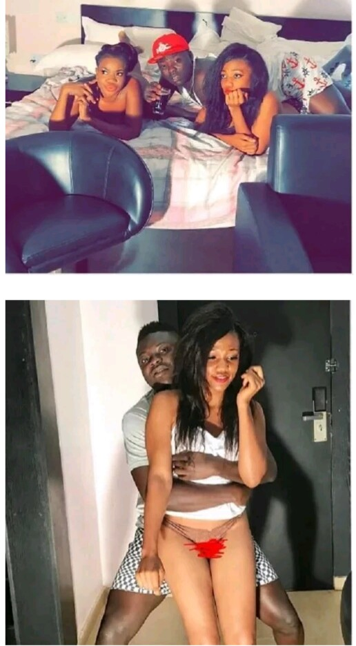 You Wont Believe What This Yahoo-Boy Is Doing with 3 Girls In His House. PHOTOS (18+)