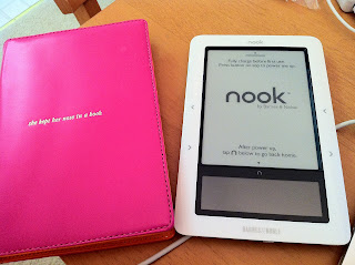 Got My Replacement Nook Today, Yay!