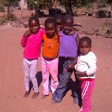Kids in Mochudi