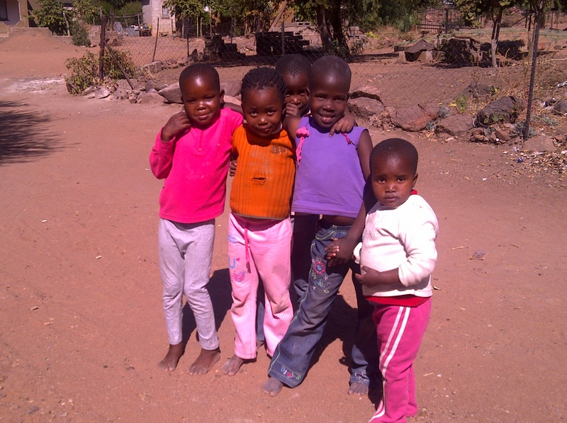 Kids in Mochudi