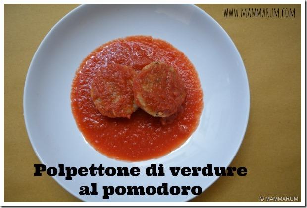 ricetta Polpettone di verdure al pomodoro