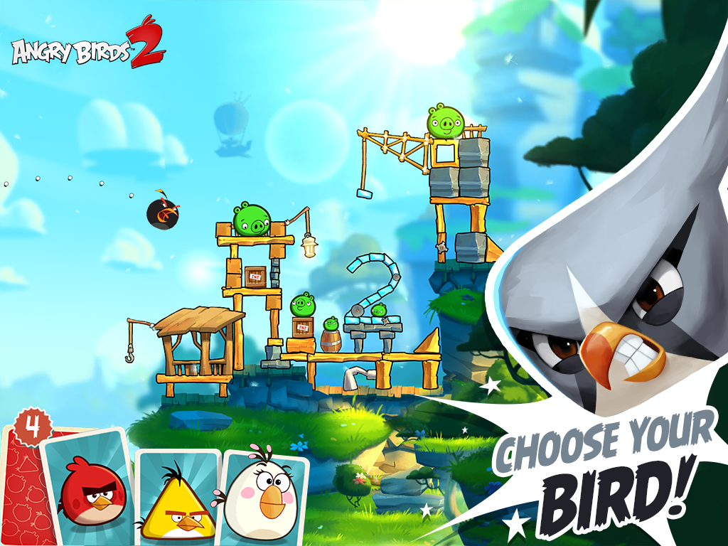 Angry Birds 2 MOD APK (UNLIMITED MONEY) ~ ANDROID4STORE