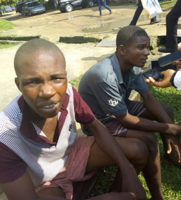 'Wire Wire' Tinz!! Two UNICAL Students Land In Serious Gbege (Photo)