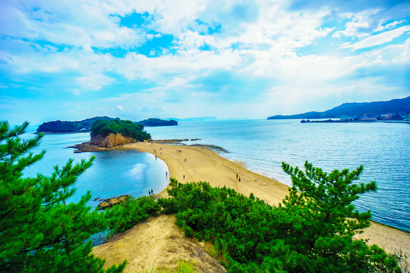 小豆島 エンジェルロード 約束の丘展望台 7