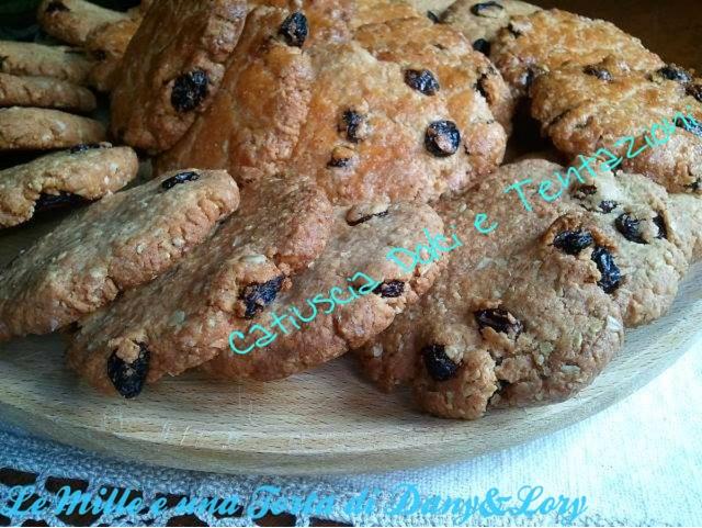 biscotti rustici all'avena