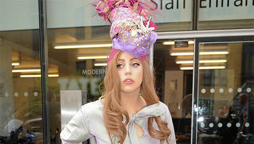 Lady Gaga Crazy Hat
