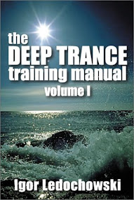 Cover of Igor Ledochowski's Book Deep Trance Training Manual Vol 1