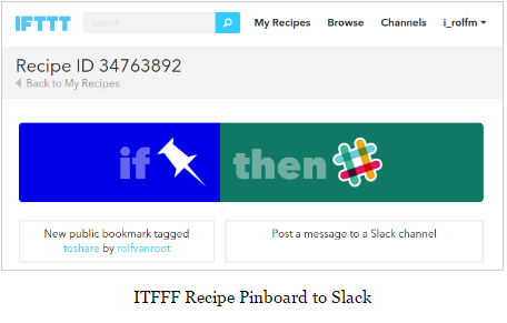 slack and ifttt integration