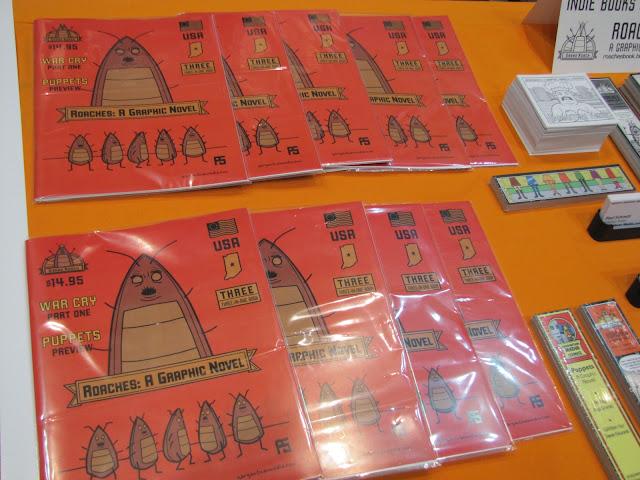 Roaches Books Comics Graphic Novels