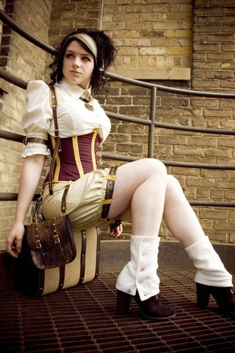 Sexy Steampunk Girl 16