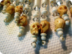 I particularly like the bone skull beads! Hand carved!