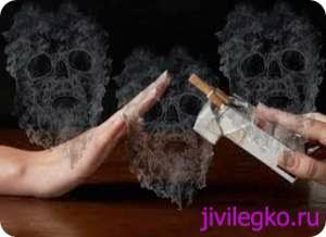 Когда человек бросает курить